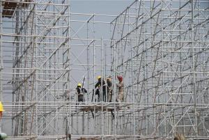 Ring Lock  Scaffolding System HDG for Construction