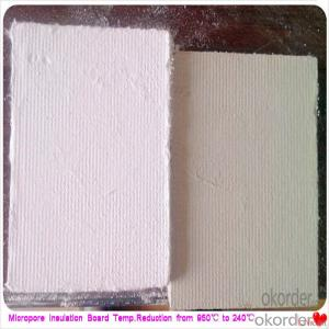 Fire Retardant Foam Insulation Board Steel Plant Using Micropore Heat Thermal Insulation