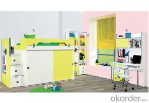 Prince Bedroom Bunk Bed  with Colorful Design