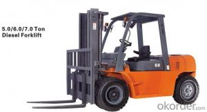 7.0T Disel Forklift Truck with Good Price
