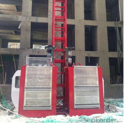 Building Hoist with Counterweight (SCD200/200)