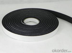 Black Color Single  Sided PE   Foam Tape