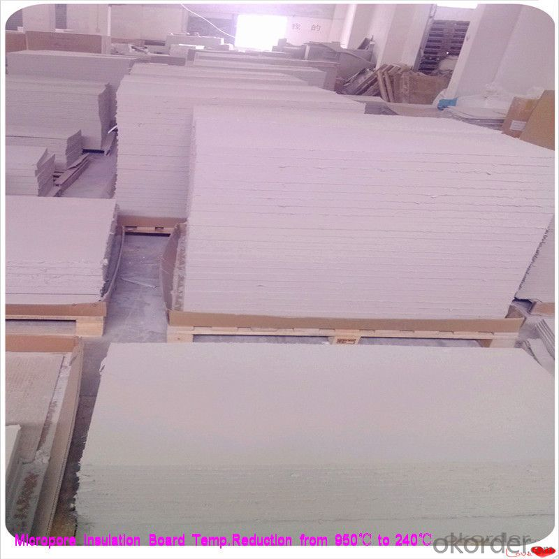 Thermal Insulation Board Steel Plant Using Micropore Heat Thermal Insulation