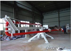 Mechanical Distributor Type Concrete Placing Boom 12L
