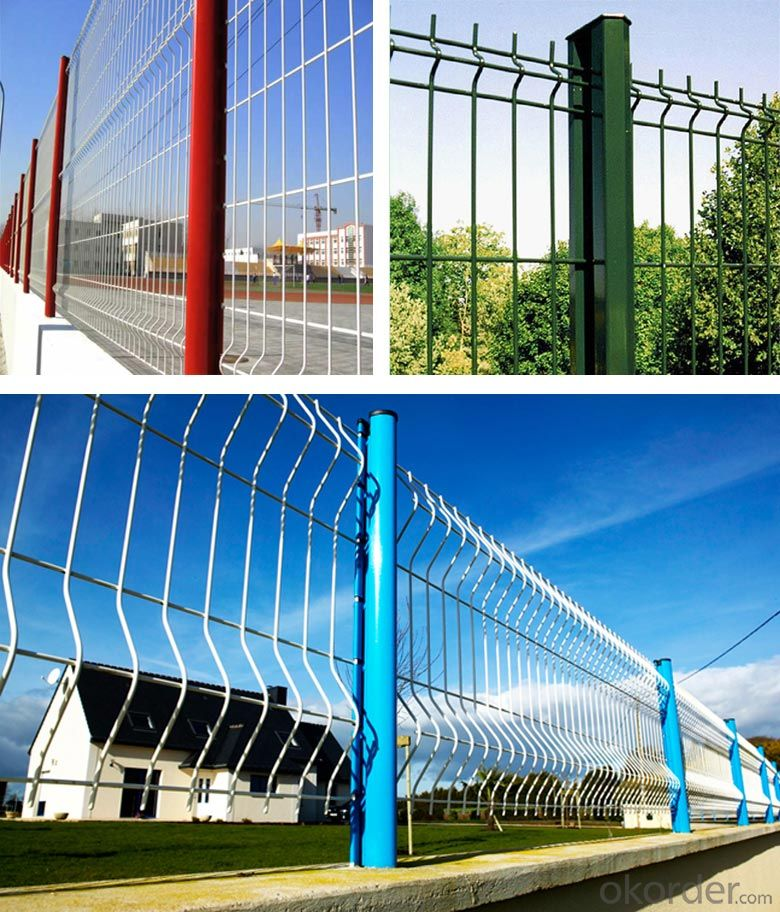 Different Kinds Of  Wire  Mesh  Fencing