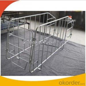 Galvanized Gestation Crate or Stall for Pigs(1 Booth)