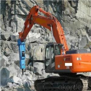 Excavator Mounted Hydraulic Breaker Hammer for Construction
