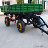 Agricultural Tractor Double-Axle Farm Trailer 7CX-3