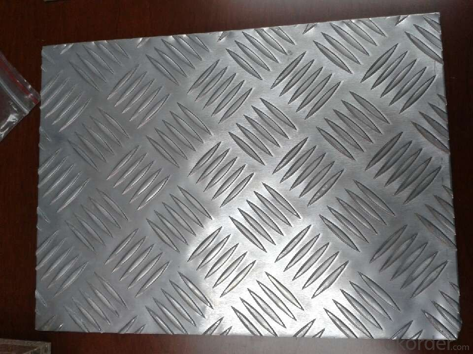 Aluminum 5 Bars Plate/Tearplate of Good quality in Hot Sale!