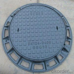 Manhole Cover High Quality Cast Iron Ductile Iron