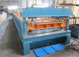 Cut-to-length Ridge Cap Roll Forming Machine