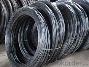 Black Iron Wire with Good Price and High Quality