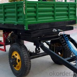 Agricultural Tractor Double-Axle Farm Trailer 7CX-4