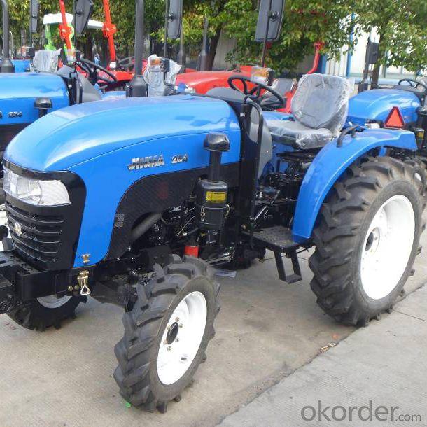 2010 jinma jm-254 tractor 4WD 3 cyl diesel 540/1000 rpm
