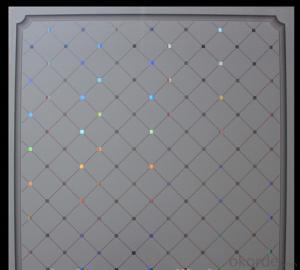 595*595mm New Patterns/Designs Bathroom Pvc Ceiling Panel pvc ceiling tile