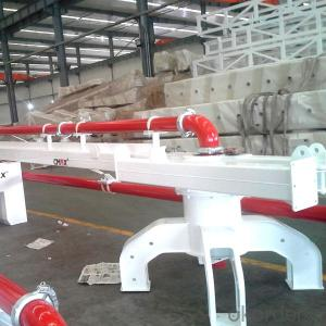 Mechanical Distributor Type Concrete Placing Boom 10M