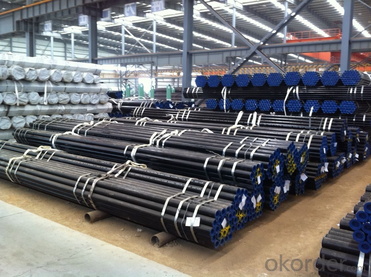 Seamless Pipe ASTM A106/53 With High Quality