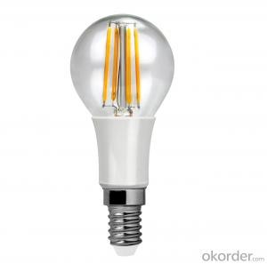 LED Filament Bulb Light E27 3000k-4000K-5000K-6500k B45 9W 800 Lumen Non Dimmable