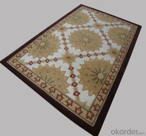 Wool Rug with Modern Design for Luxury Home and Hotel