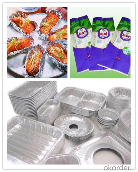 Aluminum Foil for HOUSEHOLD Pakage or Medicien
