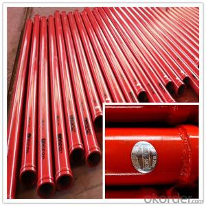 St52 Seamless Delivery Pipe for Concrete Pump
