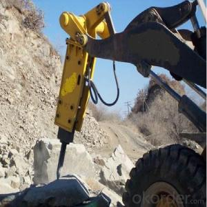 Hydraulic Excavator Rock Breaking Hammer Used in Quarry for Breaking Rocks