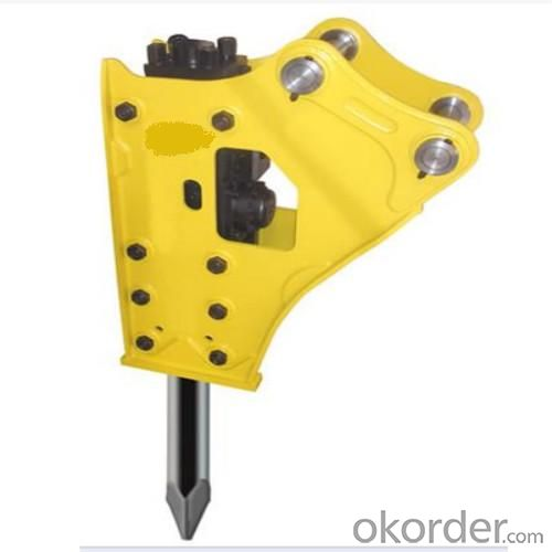 Hydraulic Hammer for 19t ~25t Excavator PO81 Open Top Type