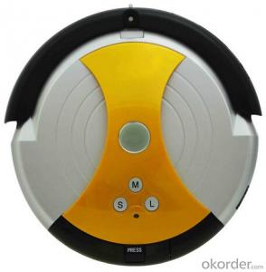 Robotic Vacuum Cleaner with Remote Control Cyclone Cyclonic Wet and Dry Robot Vacuum Cleaner