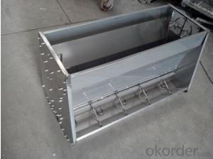 Agricultural Equipment Stainless Steel 201 Trough Feeder(900x500x550mm)
