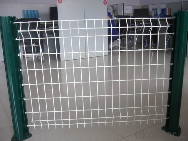 Buy Welded Mesh Panel Pvc Coated Wire Fence Price Size