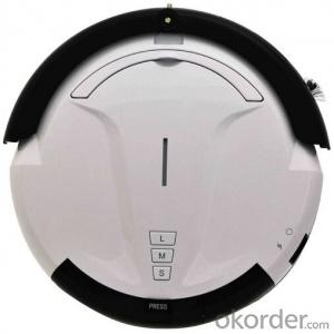 Intelligent Robot Vacuum Cleaner with Remote Control and Schedule Time Setting Fuction