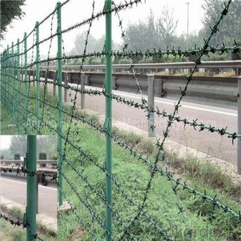 Galvanized and PVC Coated Barbed Wire Barbed Wire Lower Pirce Real Factory