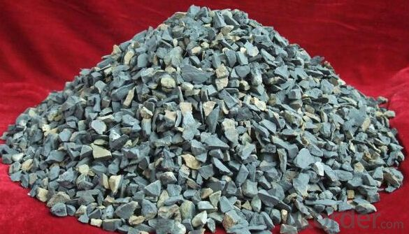 Cement Factory Raw Material Natural Bauxite of  Bauxite  Size 0-5mm for Turkey