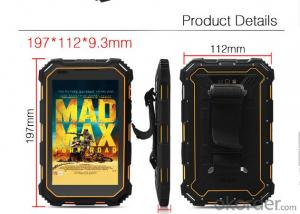 Android IP68 Rugged Tablet PC Quad core with 3G Waterproof Shockproof Dustproof