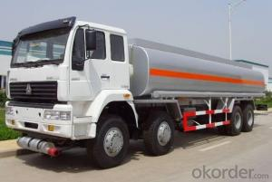 Tanker Truck with 8x4 HOWO 30000 Liter Fuel