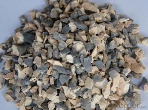 Calcind Bauxite Used for Aluminum Making Originated in China for Turkey