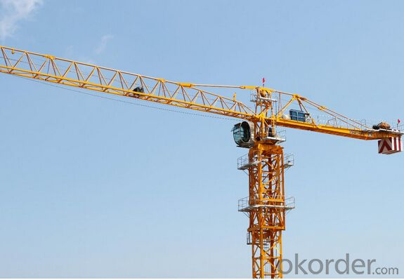 Tower Crane of TCP6015 with 12Ton Max Load and Span 65M