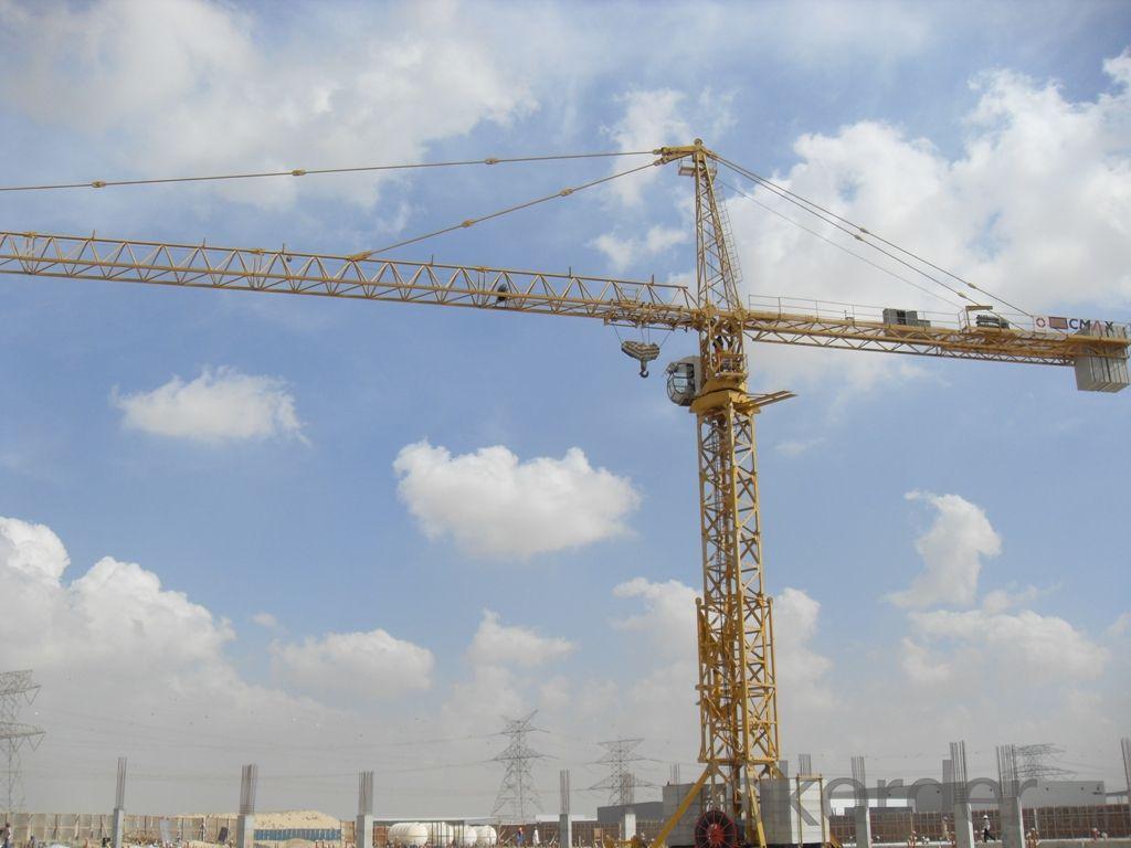 Tower Crane New Qtz80 YX6010 Double-Gyration