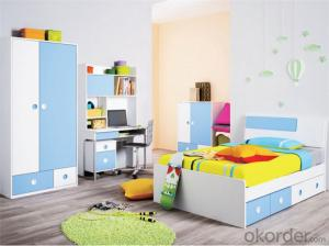 Child Furniture Set with Blue and White Color