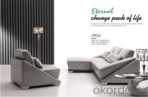Leather Living Room Furniture of Environmental Material
