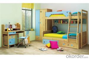 Children Colorful Bunk bed Meeting Europe Standard
