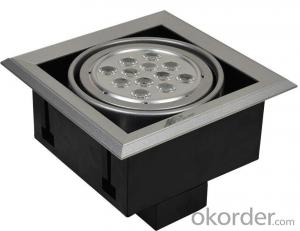 LED Grille Spotlight -> SP-BGM20W10-01C COB LED Inside