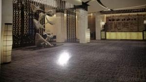 Woven PVC Commercial Flooring for Hotel/Office/Salon