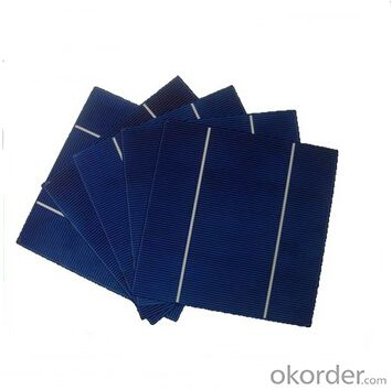 Monocrystalline Solar Cells High Quality17.2-18.8
