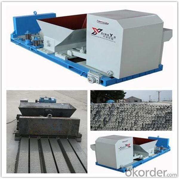 Prestressed Concrete Purline Compression Molding Machine