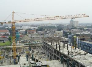 Tower Crane of TC6014 with 10 Ton Max Load and Span 60M