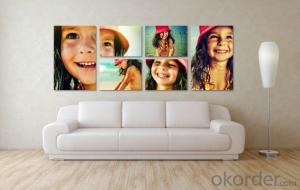 Hot Sale Home Decoration Canvas Printing Fashion Designs