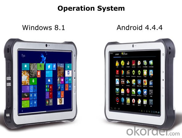 10.1 inch IP65  Rugged Tablet PC Wifi Only with Windows system