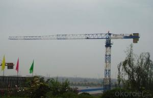 Toples Tower Crane TCP7030 With Jib length of  70M