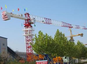 Toples Tower Crane TCP5023 With Jib length of  50M